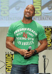 Dwayne Johnson SDCC