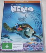 Finding Nemo 2013 AUS DVD with Digital Copy