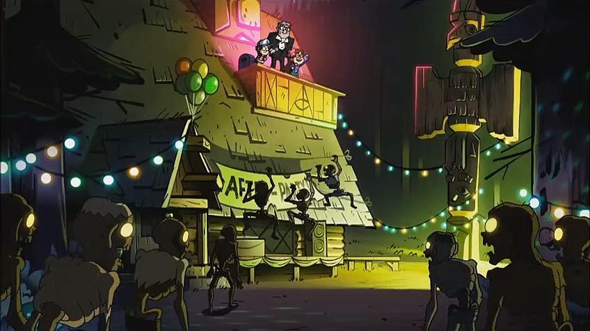 Gravity Falls - De club is vanavond van ons