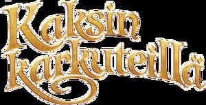 Kaksin karkuteillä logo