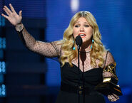 Kelly Clarkson 55th Grammys