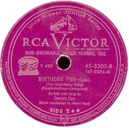 Rca birthday fun y-430 label 640