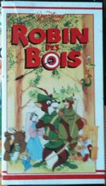 Robin Hood 1986 France VHS