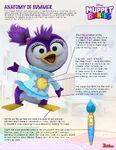 Summer Penguin Muppet Babies 2018 press sheet, Disney Junior