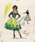 Tiana Disney designer