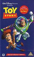 Toy Story 1999 UK VHS Collector's Edition