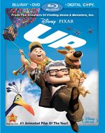 Up Blu-ray DVD Cover