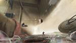Ant-Man Shower Concept Art