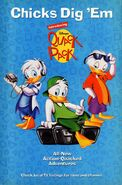 Disney's Quack Pack - TV Series - 1996 Promotional Print Ad