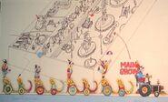 Dumbo's Circus Land Concept Art (12)