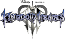 Kingdom Hearts III Logo