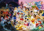 Kingdom Hearts Promotional Artwork