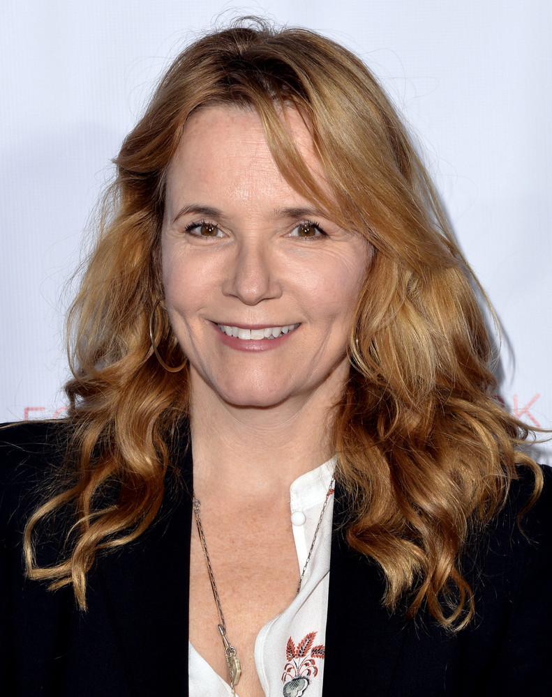 Lea Thompson bathing suit