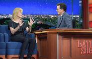 Maria Bamford visits Stephen Colbert