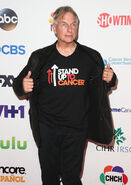 Mark Harmon at Stand Up to Cancer event