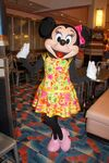 Minnie Mouse at Minnie's Summertime Dine