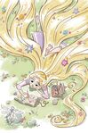Rapunzel's Guide to All Things Brave, Creative, and Fun illustrations 10