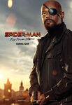 Spider Man Far From Home - Nick Fury Poster