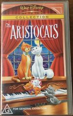 The Aristocats 2001 AUS VHS