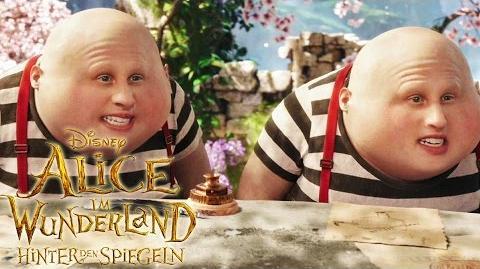 ALICE IM WUNDERLAND Hinter den Spiegeln - Der Hutmacher ist los! - Ab 26. Mai im Kino Disney HD