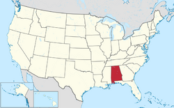 Alabama Map