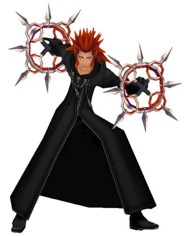 File:Axel (Action Render) KHII.png