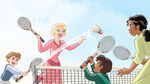 DP-DPRA-Tiana-Is-My-Babysitter-Charlotte,-Max,-Ralphie,-And-Tiana-Playing-Badminton