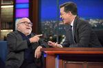Danny DeVito visits Stephen Colbert