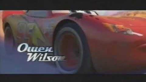 Disney Pixar's Cars Q1 TV Spot Commercial 2006