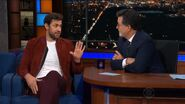 John Krasinski visits Stephen Colbert