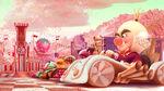 King Candy Konzept Startlinie