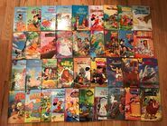 Lot-37-disney-wonderful-world-reading-books-club-scholastic-hardcover-new 153249279128