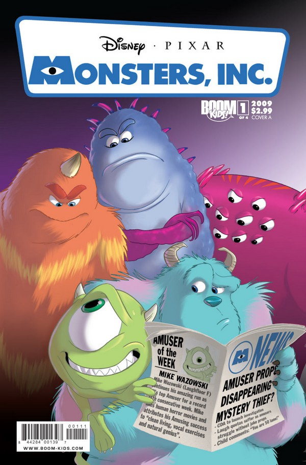 Category Monsters Inc Books Disney Wiki Fandom