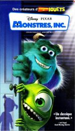 Monsters Inc 2002 French Canadian VHS