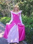 Princess Aurora poses for a photograph