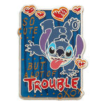 Stitch 'Trouble' Pin