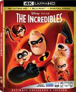 The Incredibles 4KUD Bluray