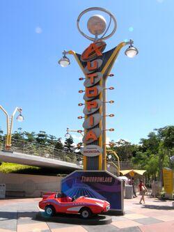 Autopia Hong Kong Disneyland