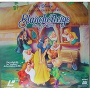 Blanche neige laserdisc