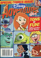 Disney Adventures Magazine cover April 2003 comics Kim Possible