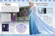 Frozen DK Essential Collection Elsa Illustraition