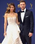 Justin Timberlake & Jessica Biel 70th Emmys