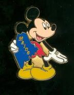 Maine Mickey Pin