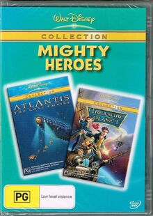 Mighty Heroes 2006 AUS DVD