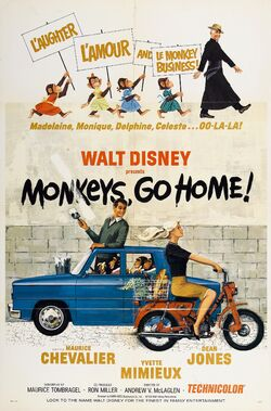 Monkeys Go Home