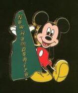 New Hampshire Mickey Pin