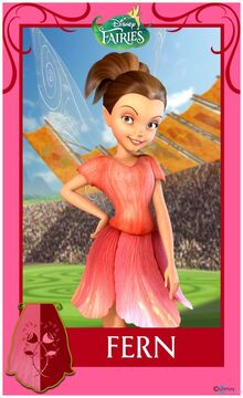 Pixie-Hollow-Games-Trading-Cards-Fern