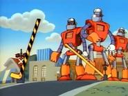 Railroad Crossing on Ducktales (Robot Robbers) 01
