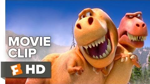 The Good Dinosaur Movie CLIP - T-Rexes (2015) - Pixar Movie HD
