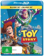 Toy Story 2011 AUS Blu Ray 3D